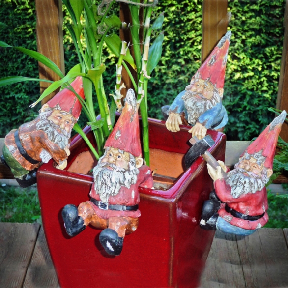 Pot Hanging Gnomes