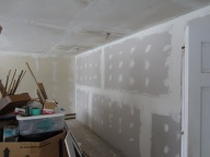 the drywall stage